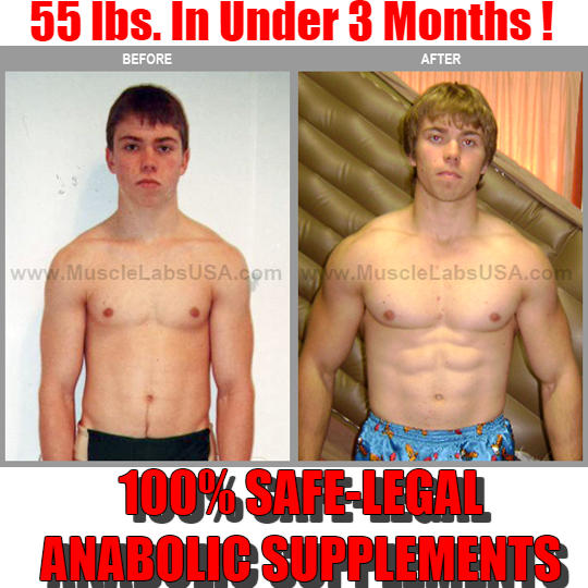 Muscle gaining steroid pills