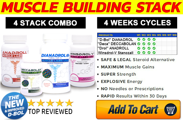muscle-building stack